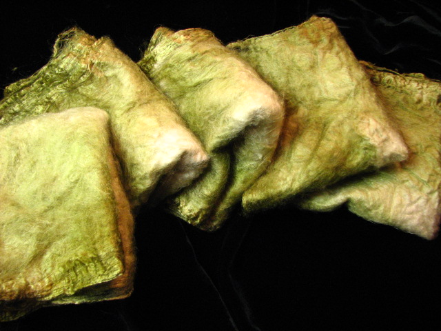 Spanish Moss Silk Hankies