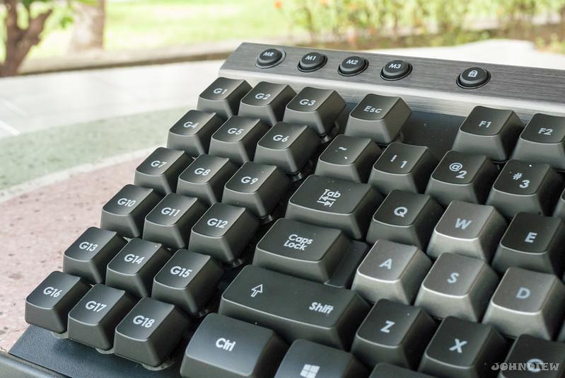 Corsair Raptor K30 and K50 Gaming Keyboards 34