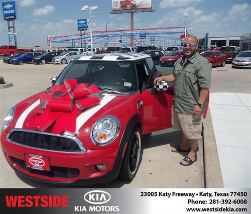 Westside KIA Houston Texas Customer Reviews and Testimonials - Edgar Rodriguez by Westside KIA