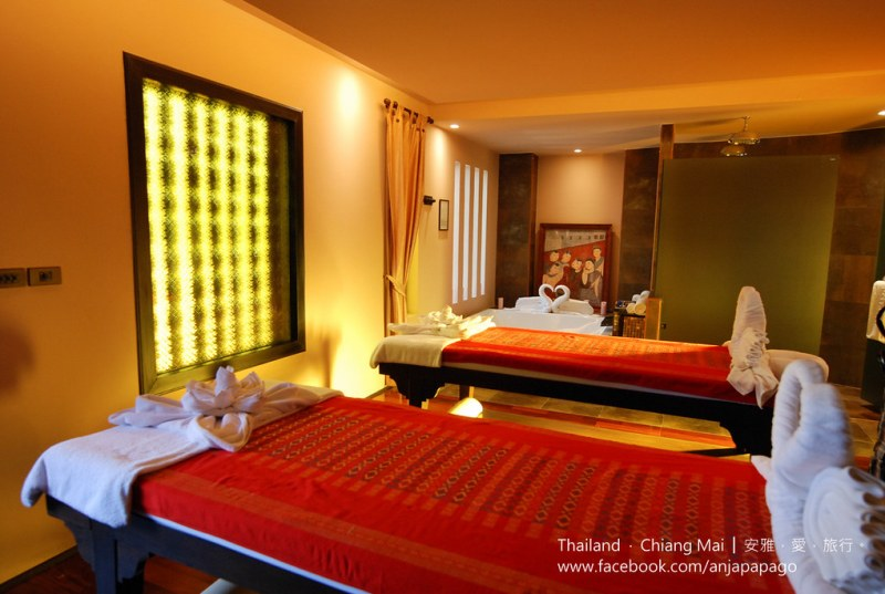 《清迈SPA按摩推荐》Siripanna Villa Resort & Spa Chiang Mai 酒店内的 Panna Spa