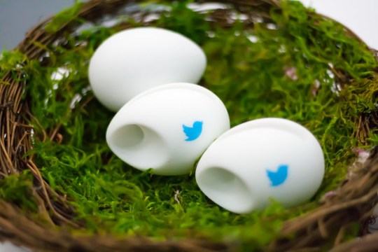 Twitter Eggs at OSCON