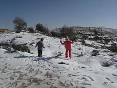 אלה ואביב בשלג