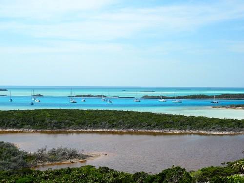 Cambridge Cay Mooring field