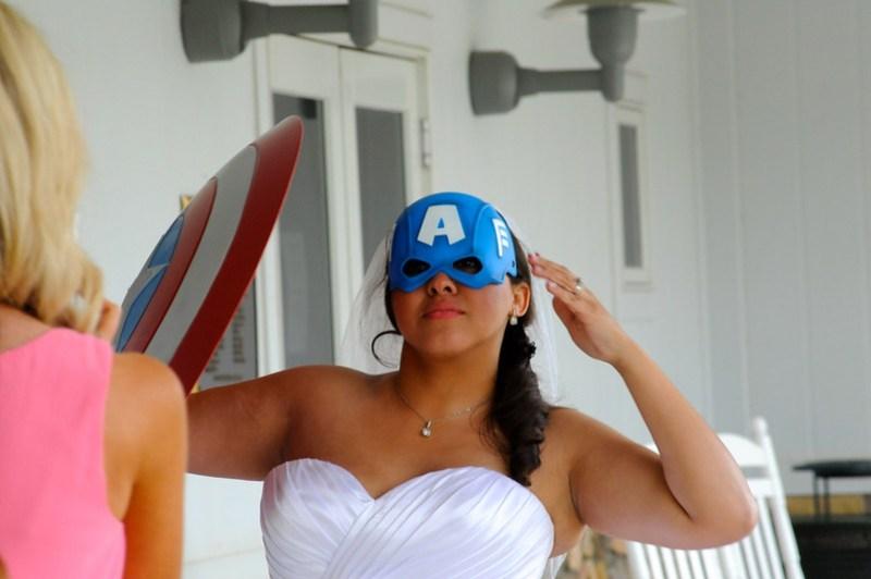 Captain America Bride