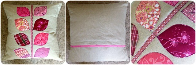 Applique Cushion Class sample