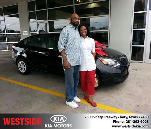 Westside KIA Houston Texas Customer Reviews and Testimonials-Robert Love by Westside KIA