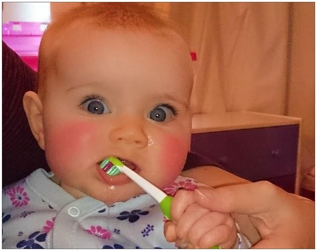 Brush Baby Teeth