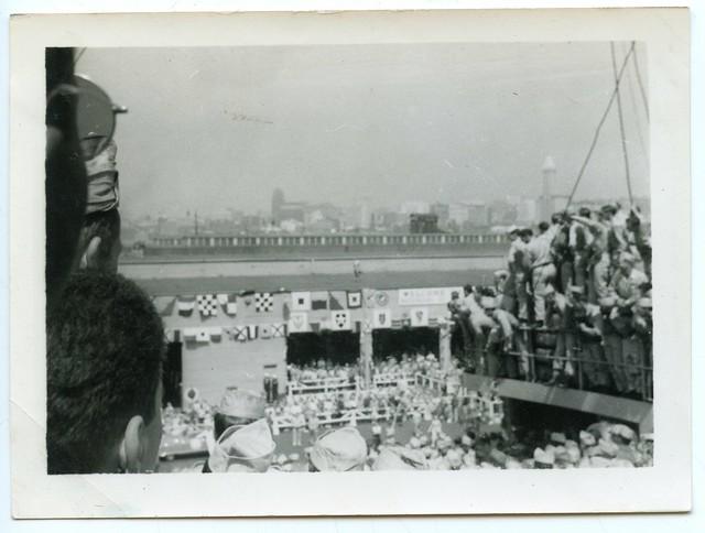 "Korean War Vets ""Dock at Seattle"", Seattle, 1951 (6 of 7)"