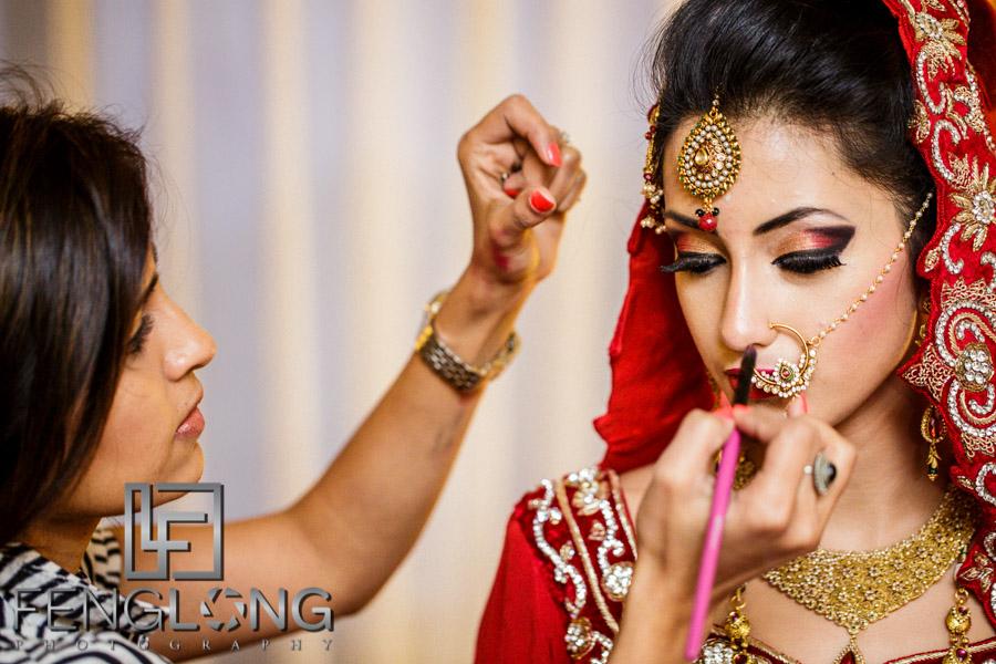 Bengali bride prepares for her Muslim wedding in Atlanta