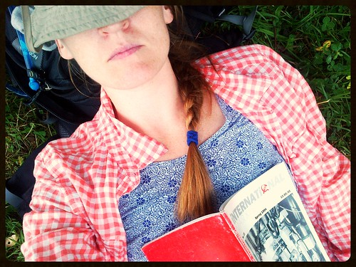 selfie, napping, Vosges