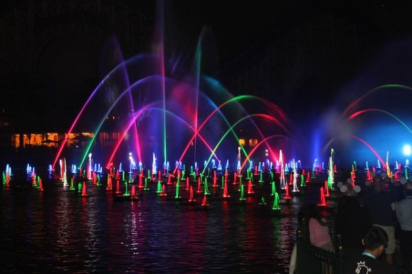 World of Color - Winter Dreams debut at Disneyland