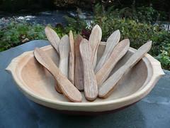 wooden spreaders