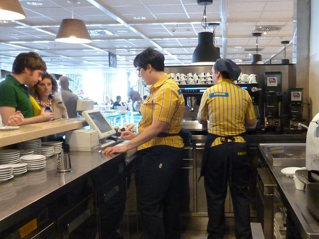 IKEA Italy's coffee bar. How awesome is that?