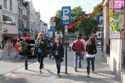 RJFC sticker #39 (left in Brussels)