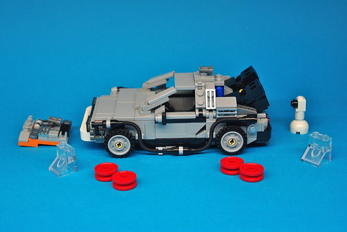 LEGO Back to the Future DeLorean (9)
