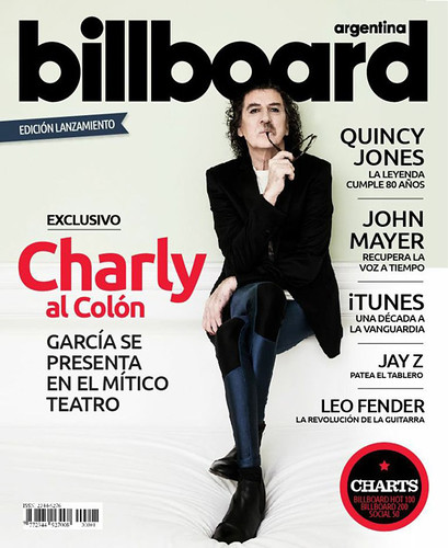 Charly Garcia - Bilboard AR