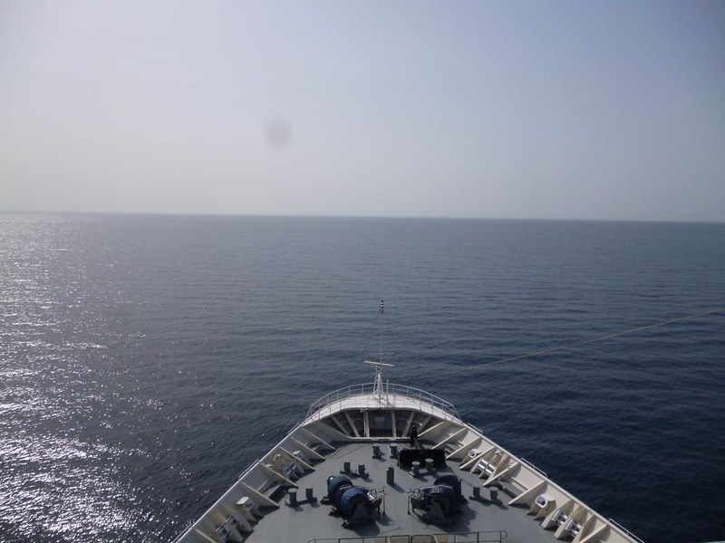 The deep blue sea awaits.