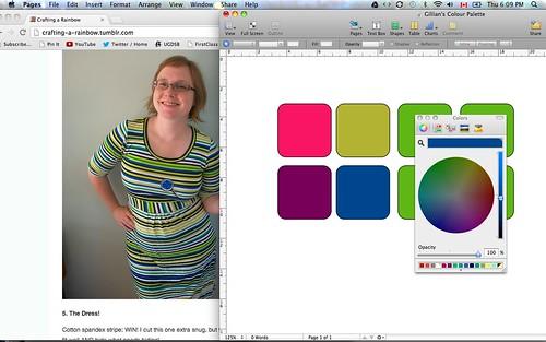 Making a Colour Palette