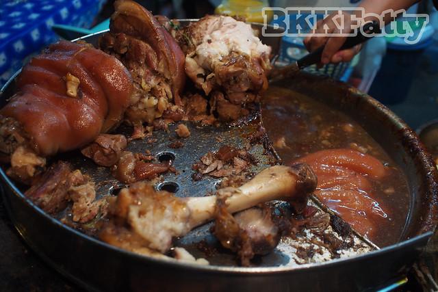 stewed pork leg