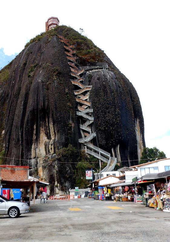La Piedra in Guatape, Colombia.