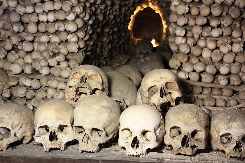 Kostnice, kostnice Sedlec, Ossuary, Beinhaus, Bone Church, Kutna Hora