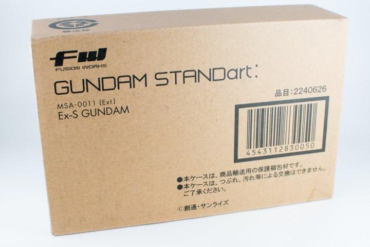 FW GUNDAM STANDart:「Ex-S ガンダム」