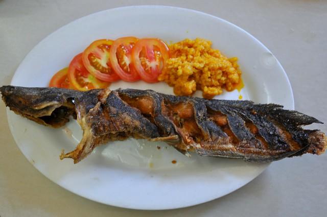 Fried Catfish with Buro