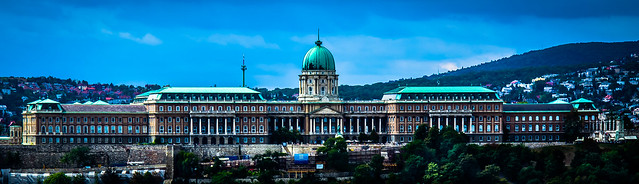 Budapest, Hungary, Buda Castle by day