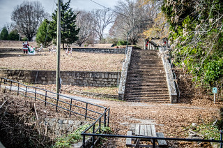 Pacolet School Hill Staircase