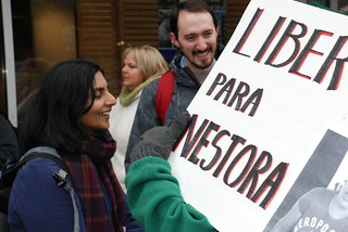 Seattle Free Nestora Salgado Protest 6.10.13