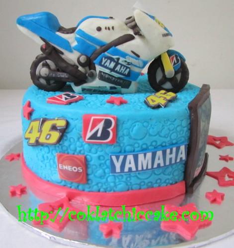 Kue Ulang Tahun Valentino Rossi Dan Foto Moto Gp Ayah
