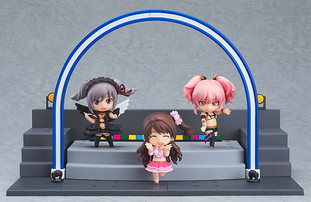 Nendoroid Petite: IDOLM@STER Cinderella Girls - Ranko, Uzuki and Mika + Live Stage Set
