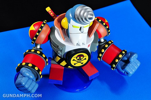 Banpresto One Piece WCF Mega Franky Shogun Review (25)
