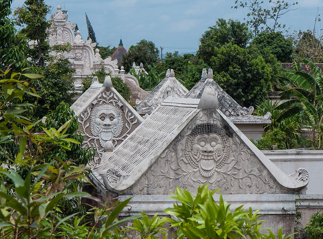 Roofs of the Water Palace, Yogyakarta