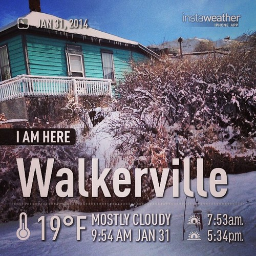 #weather #instaweather #instaweatherpro #outdoors #followme #photooftheday #amazing #walkerville #unitedstates #day #winter #morning #cold #us