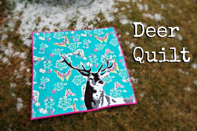 Deer Quilt Title