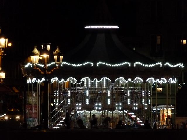 Night Seine Carousel