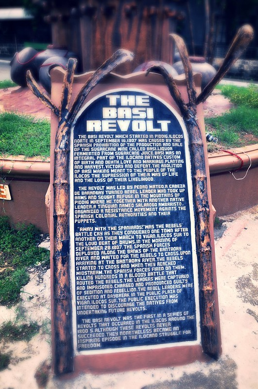The Basi Revolt Marker