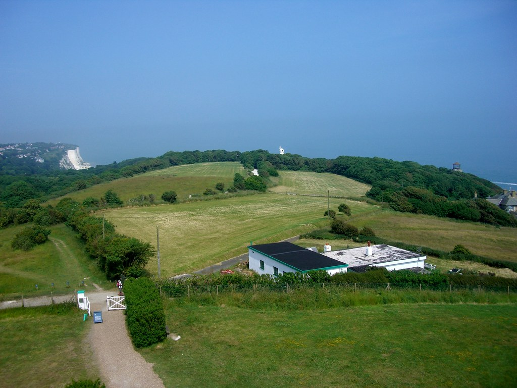 Dover view from lighthouse