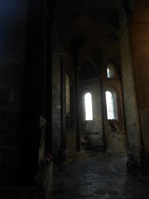 Ambulatory, St Leonard Noblat