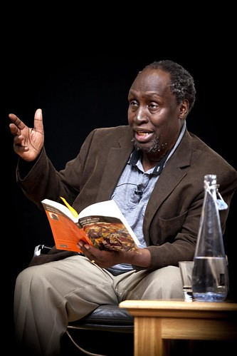Ngugi wa Thiong'o reading at International Translation Day 2013