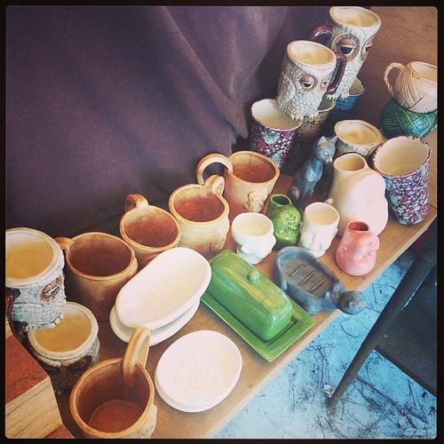 Fresh from the HaldeKiln #ceramics #kiln