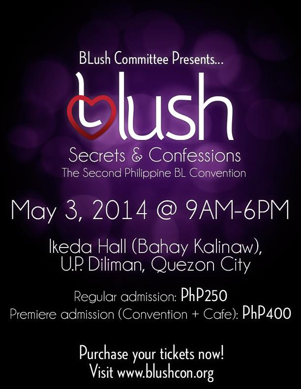 BLush Convention 2014