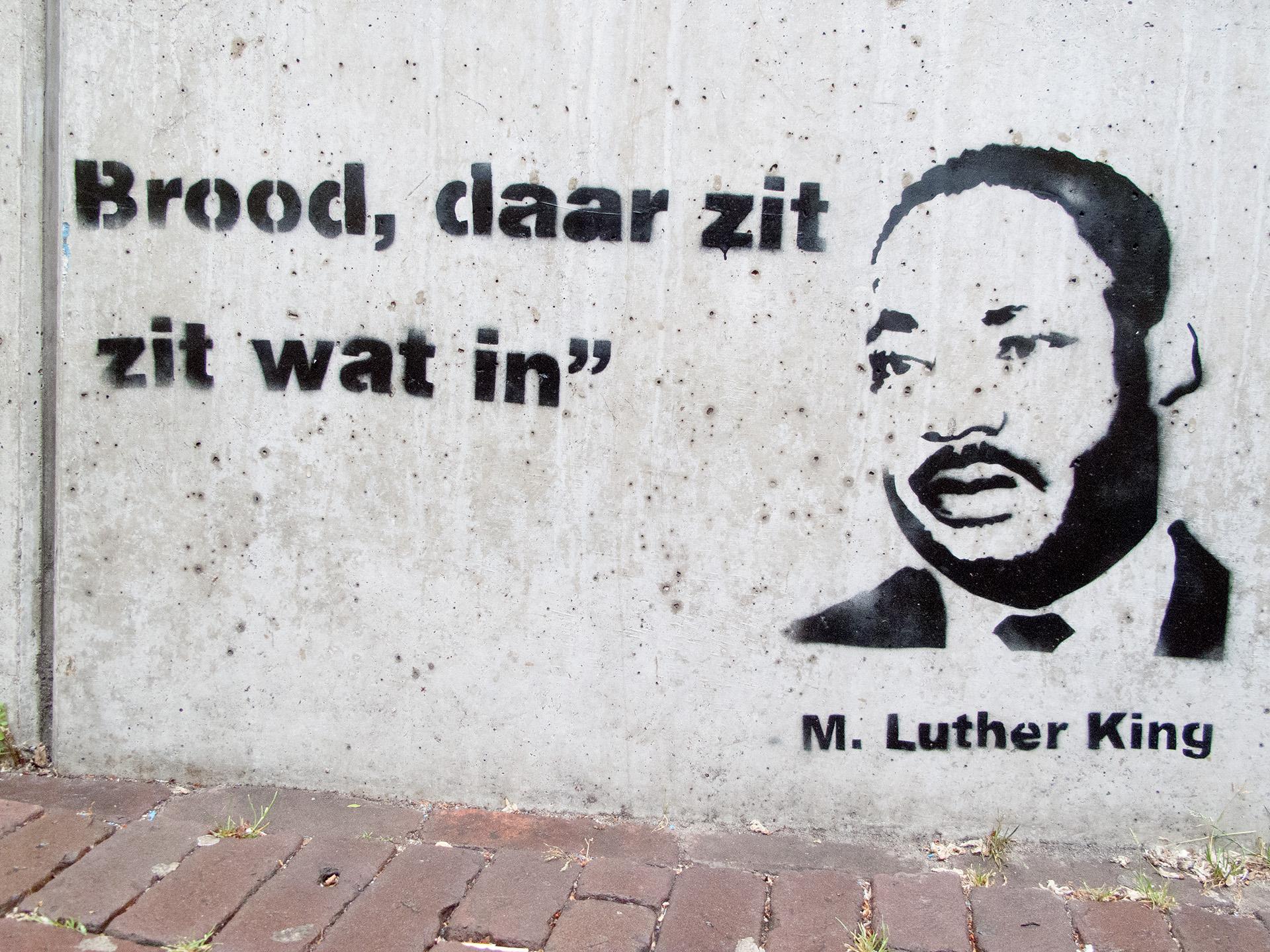 MLK - Stencil