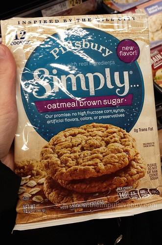 Pillsbury Simple Oatmeal Brown Sugar Cookies