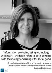 Bonnie Nardi on Sustainable Lens