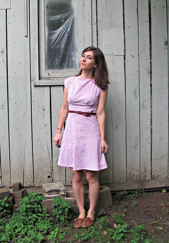 Anna Dress - Seersucker