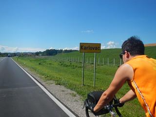 Llegando a Karlovac