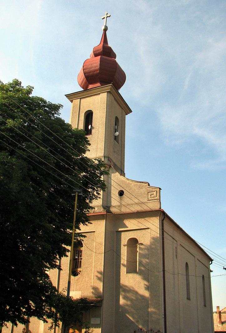 Kostol vo Vrbovke dnes