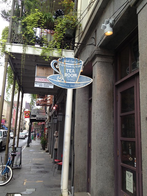 Bottom of the Cup Tea Room, New Orleans